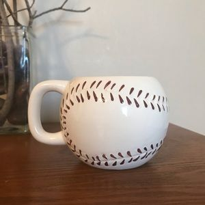 Baseball coffee cup